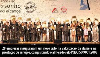 A Festa Da Certificação Máxima De Qualidade 2011