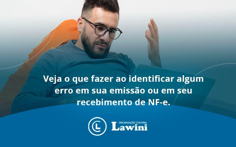 Devolver Ou Recusar Nf E Lawini Contabilidade - Organização Contábil Lawini
